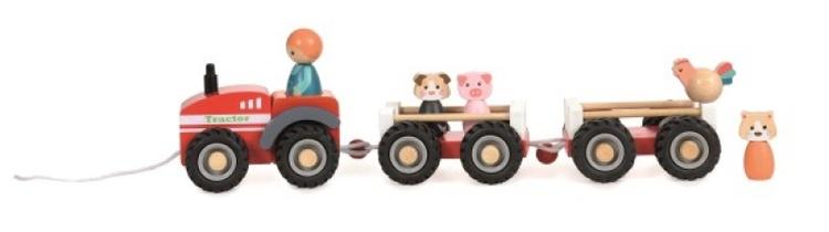 Egmont Traktor med släp