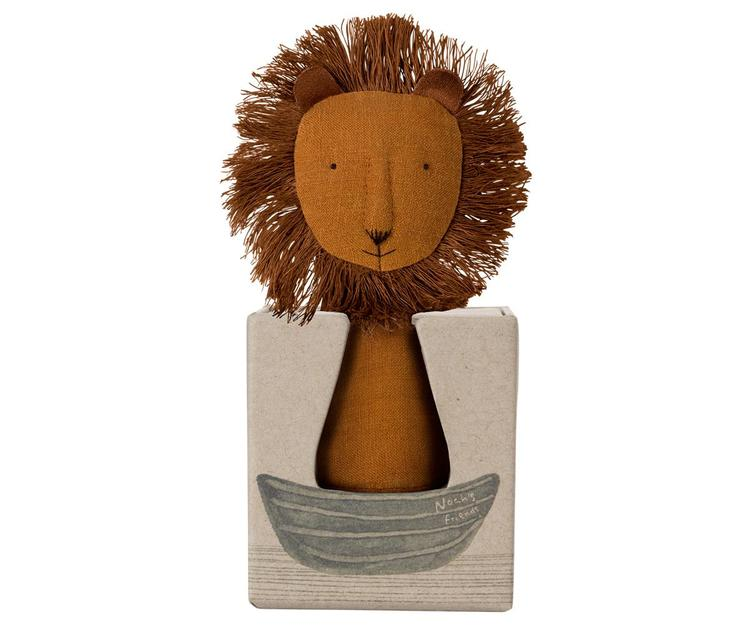 Maileg Noah`s Friends Lion Rattle