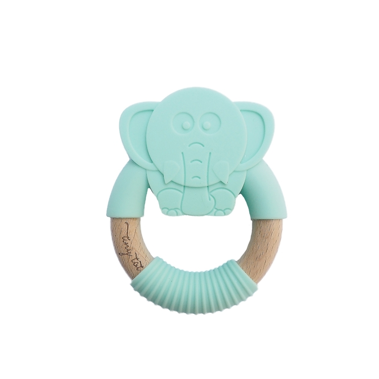 Tiny Tot Bitring Elefant Mint