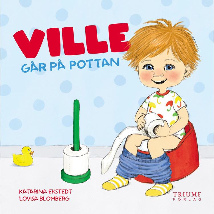 """Barnbok """"Ville går på pottan"""""""
