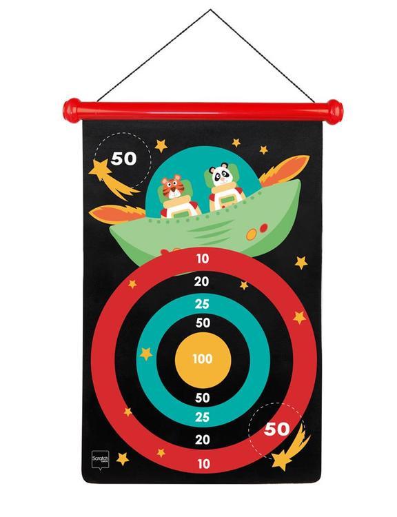 Scratch Dartspel Magnet