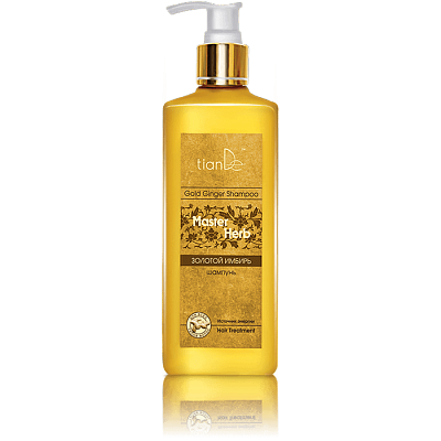 Master Herb - Gold Ginger Hair Shampoo - 300 ml