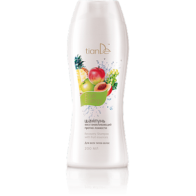 Fruit Energy Recovery Shampoo with Fruit Essences - 200 ml