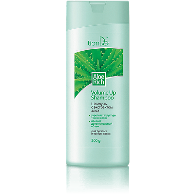 Aloe Rich Volume-Up Hair Shampoo - 200g
