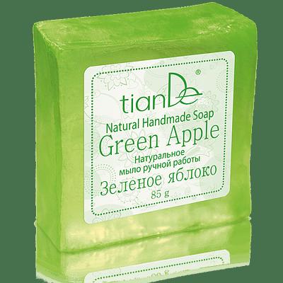 Naturell, handgjord tvål - Grönt Äpple - 85g