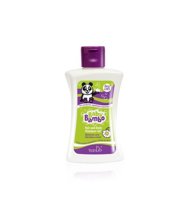 Shampoo body and hair gel Baby Bambo