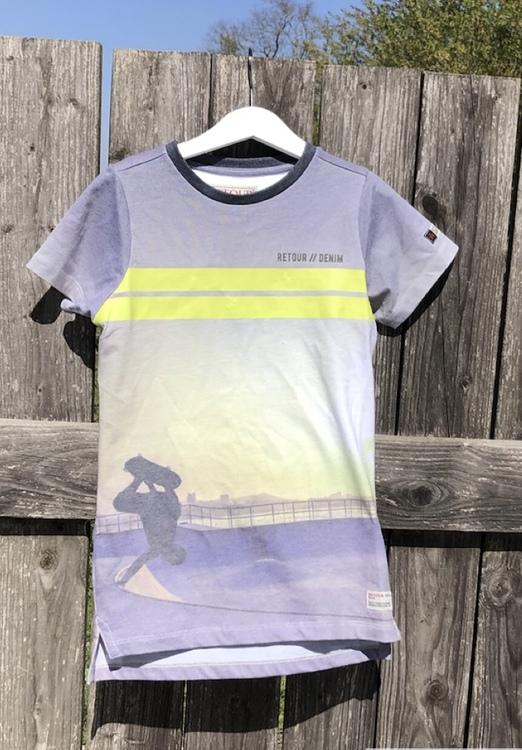 T-Shirt Matteo Neon yellow