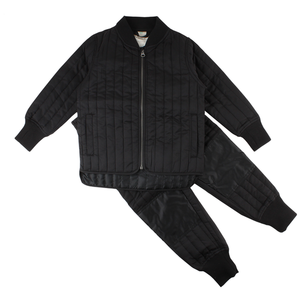 EN FANT thermal set svart / black