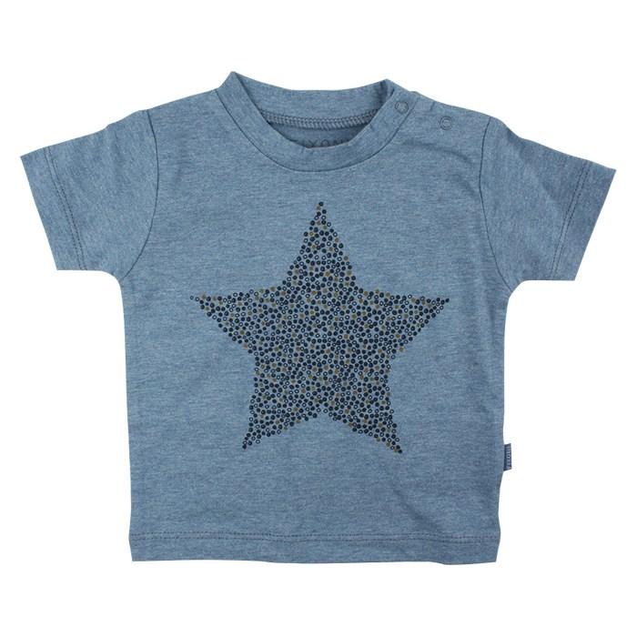 t-shirt stjärna blå