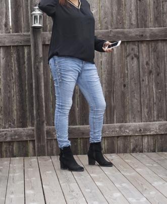 Jeans bling bling Cat&co