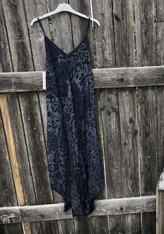 Leo klänning Blå