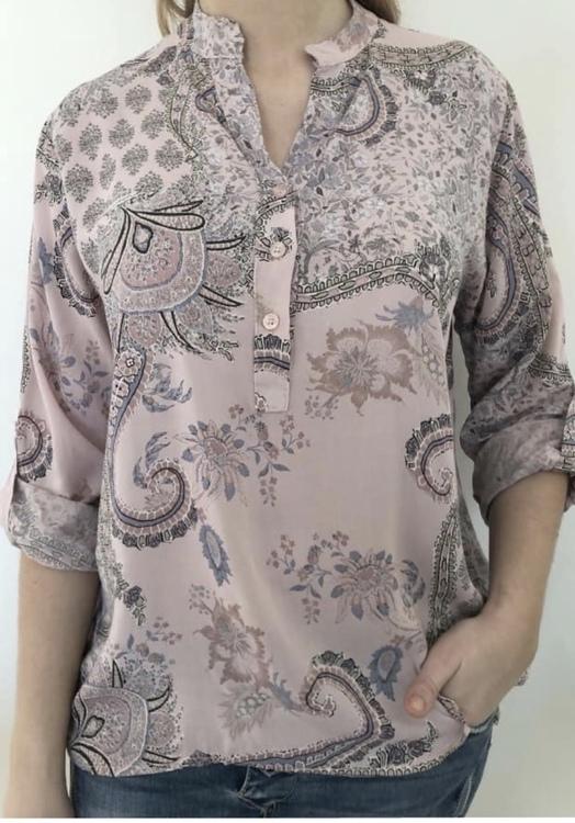 skjorta mönstrad Rosa