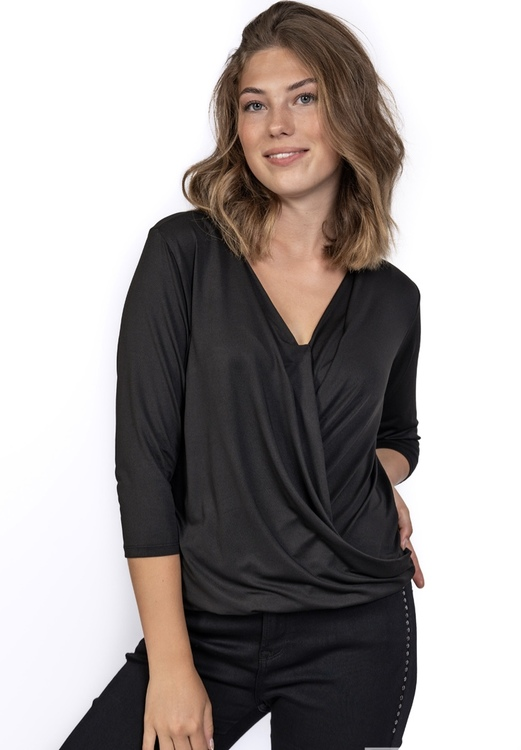 MARGOT TOP BLACK