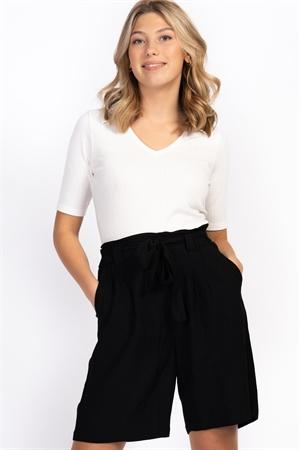 Capri collection Thalia Shorts - Svart