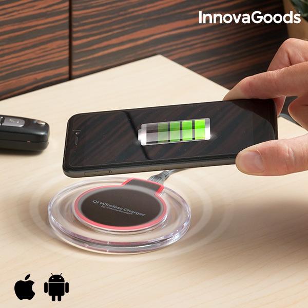 Qi trådlös laddare för smartphones