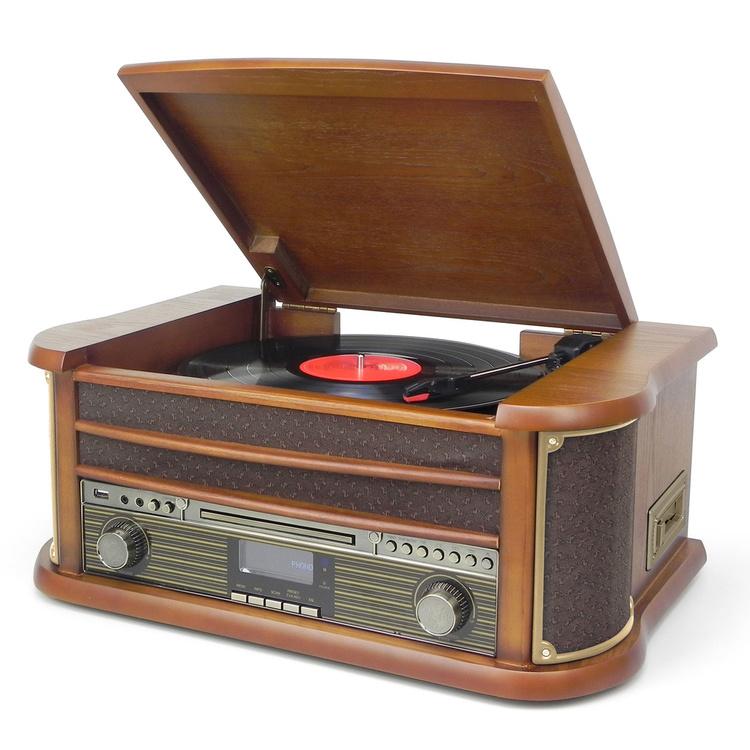 Digital Musikanläggning Retro