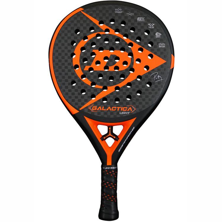 Padelrack Dunlop Galactica Orange Light