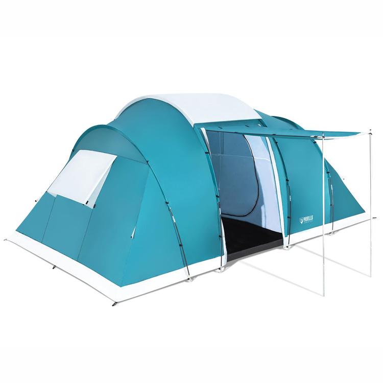 Campingtält för 6 personer - Flera olika rum