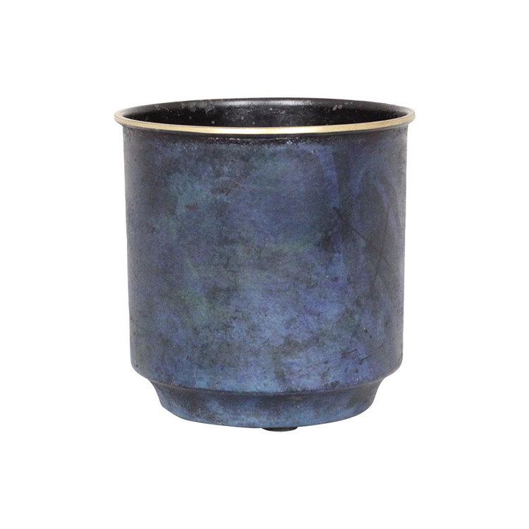 HELMER Kruka Antik Blå - Mellan