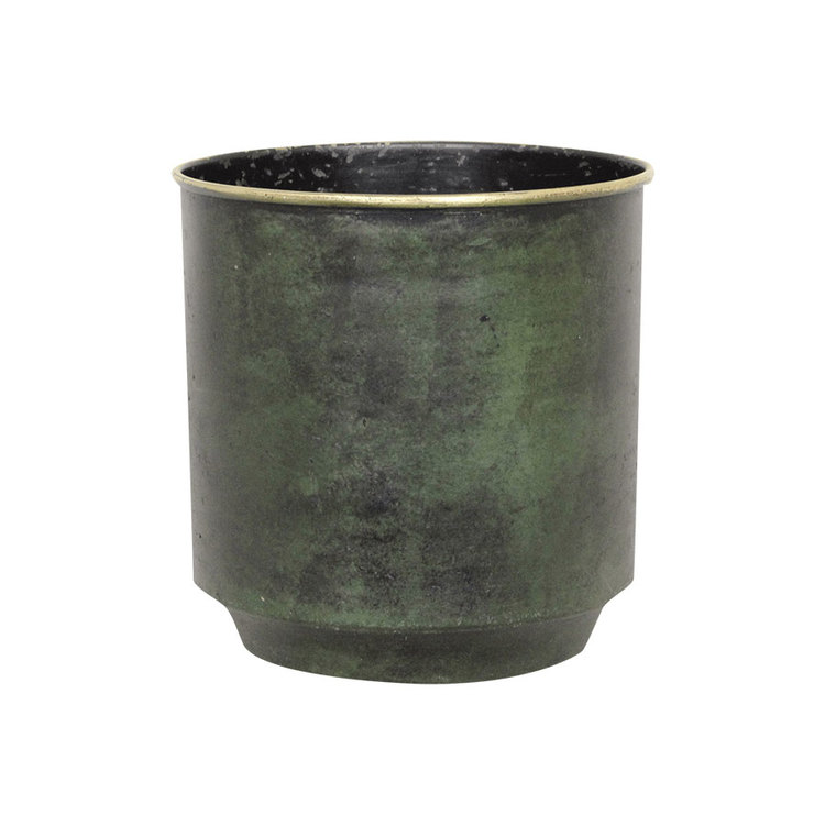 HELMER Kruka Antik Grön - Mellan