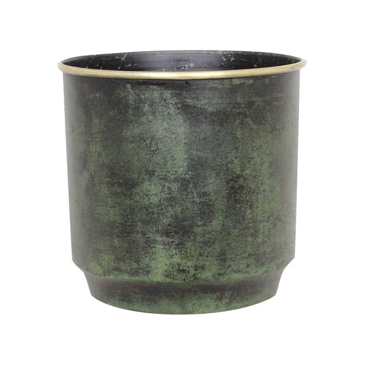 HELMER Kruka Antik Grön - Stor