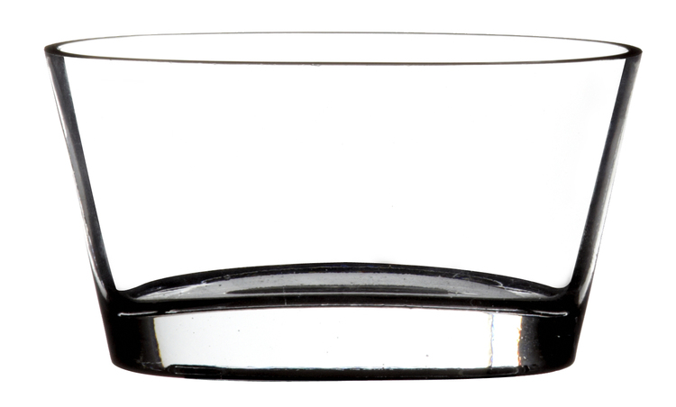 Oval Glasskål
