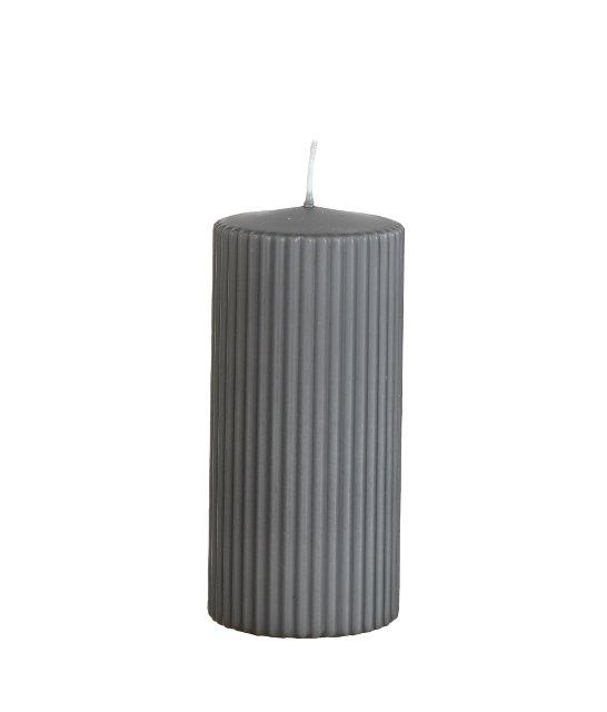RILL Värmeljus Grå - 15cm