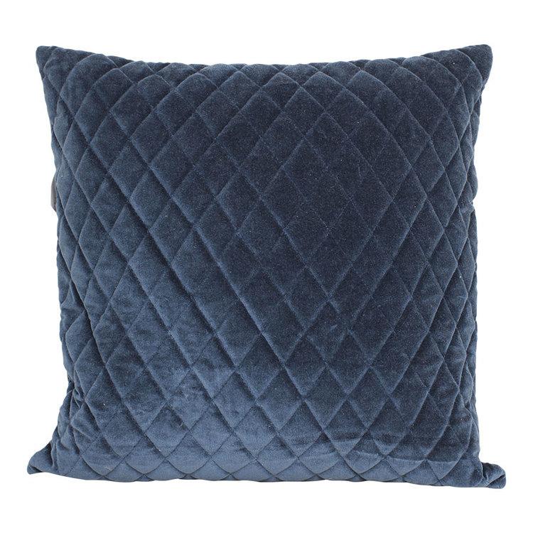 Kuddfodral Sammet Blå - 50x50cm
