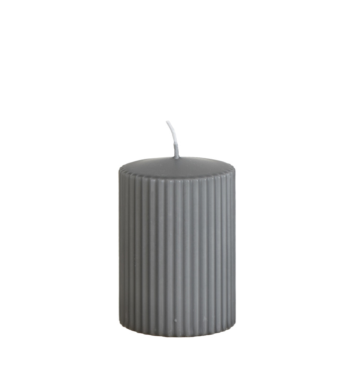 RILL Värmeljus Grå - 10cm