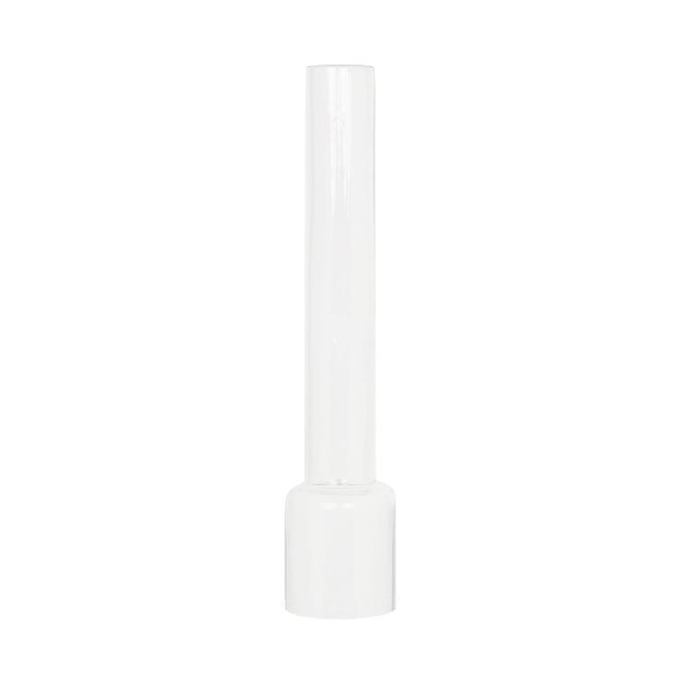 Glasrör Fotogenlampa Rak/Frost - Stor