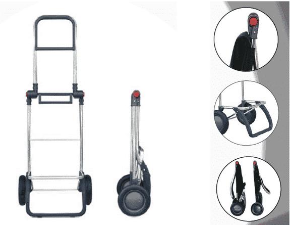 Shoppingvagn hopfällbar Rolser RG Logic