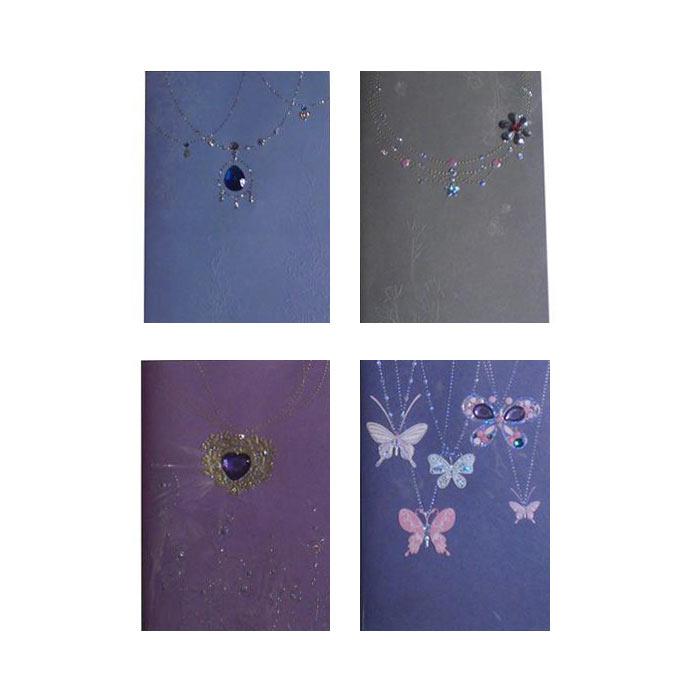 Dubbelvikta kort med kuvert 4-pack