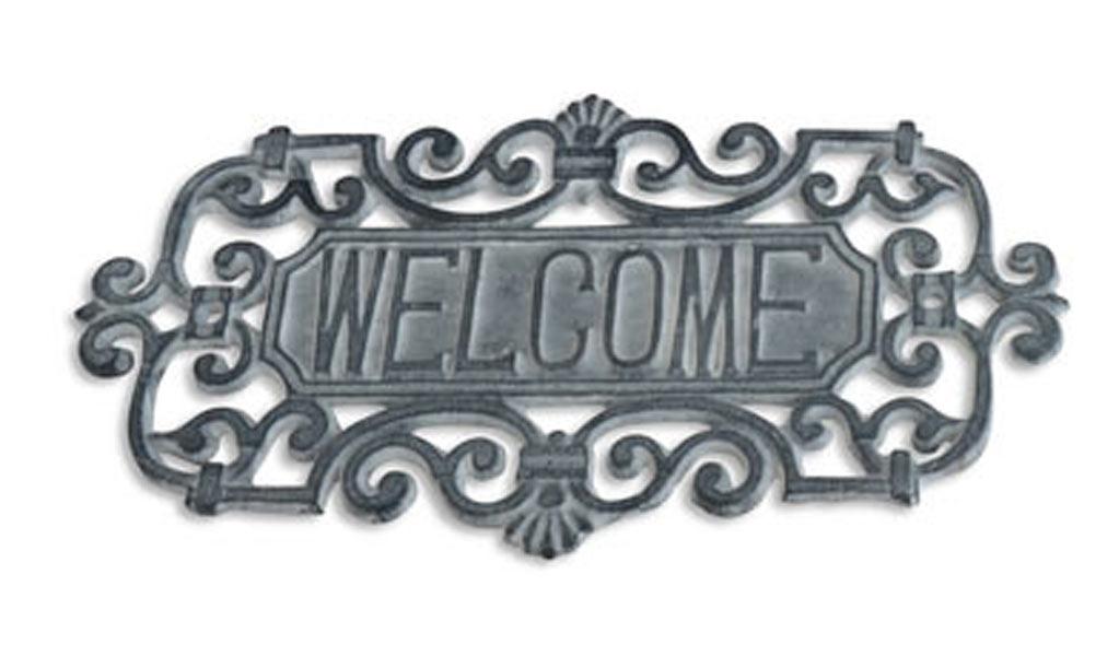 Skylt WELCOME