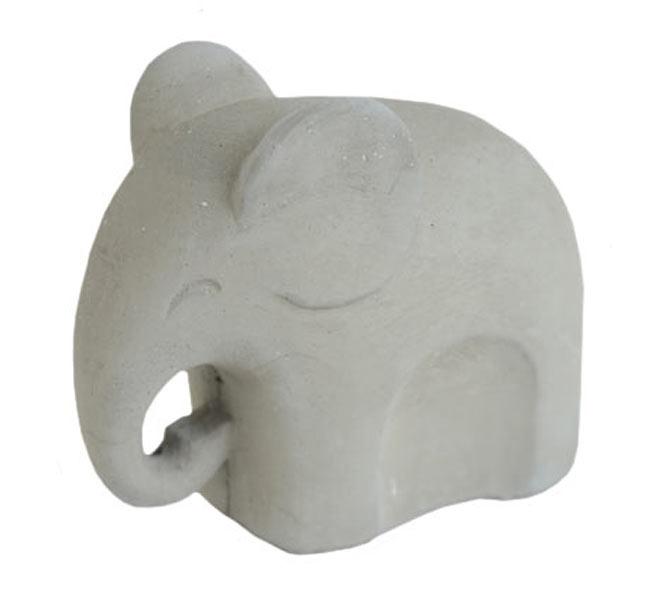 Elefant Grå Betong