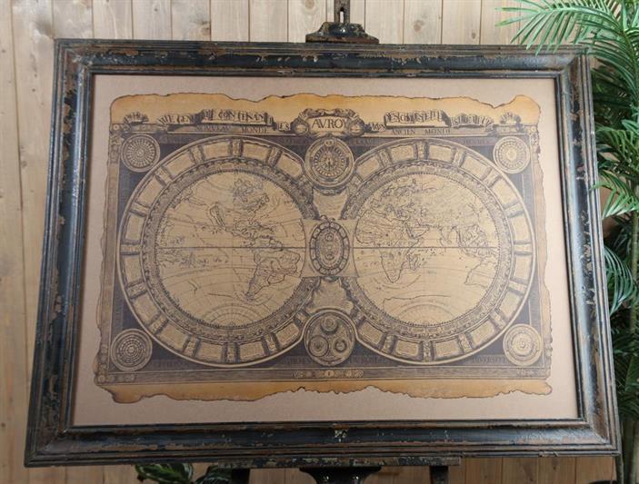 Stor Tavla Världskarta
