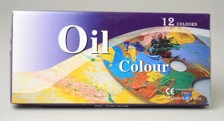 Oljefärger 12-pack x 12ml