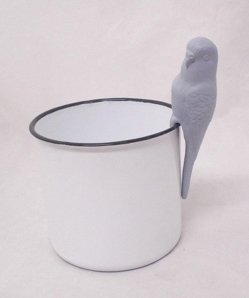 Fågel för kruka H15