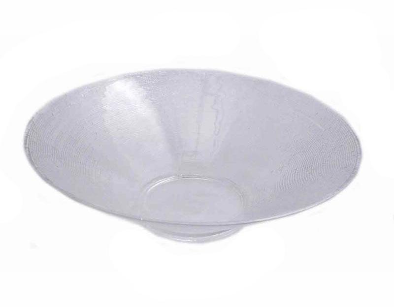 Skål i glas, 2-pack D 20cm