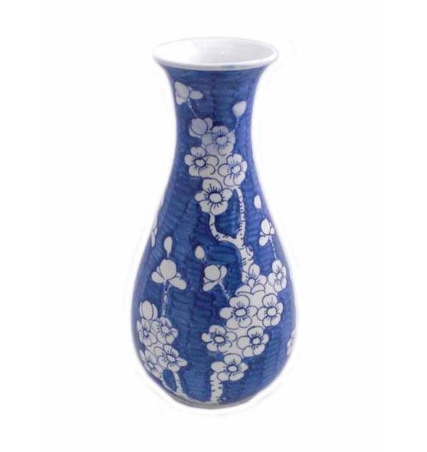 Vas keramik blommönster