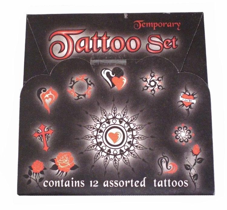 Tattoo set - Tillfällig tatuering