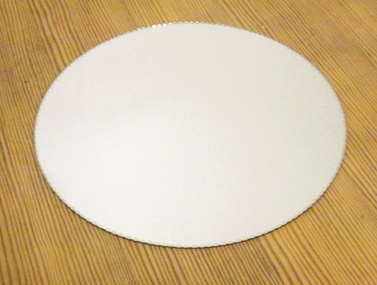 Spegelfat underlägg dekoration spegel ljusfat shabby 30cm