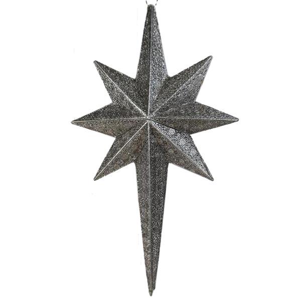 Lampa Stjärna Silver  H109