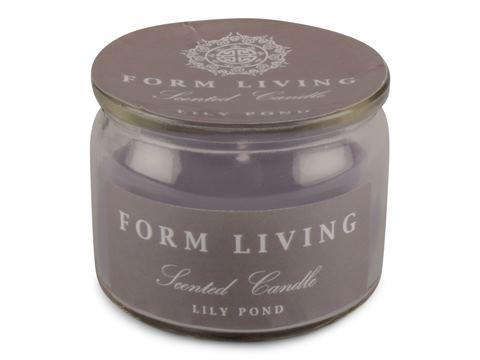 Doftljus i glas Lily pond 2-pack