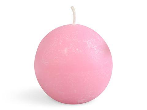 Klotljus, 6 cm 6-pack Rosa