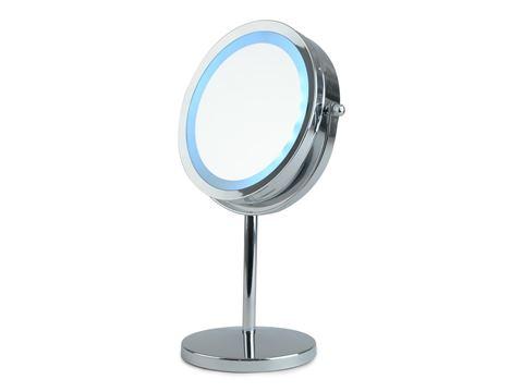 Spegel Förstoring med led ljus Bordsmodell