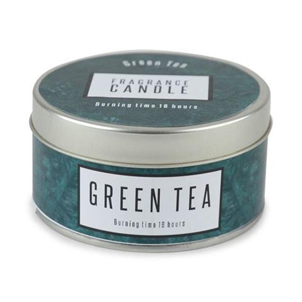 Doftljus Metallburk Green Tea