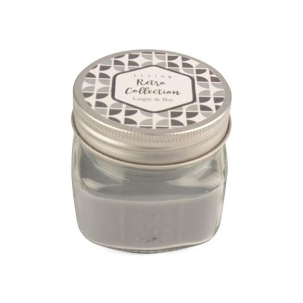 Doftljus i glas med lock Lugn & ro