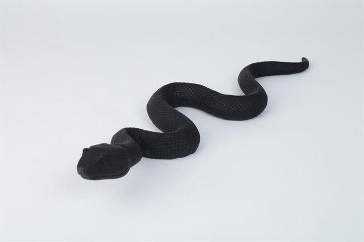Orm Svart L 53 cm
