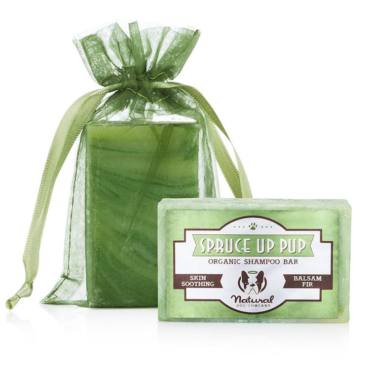 Natural Dog Spruce Up Pup Organic Schampoo Bar