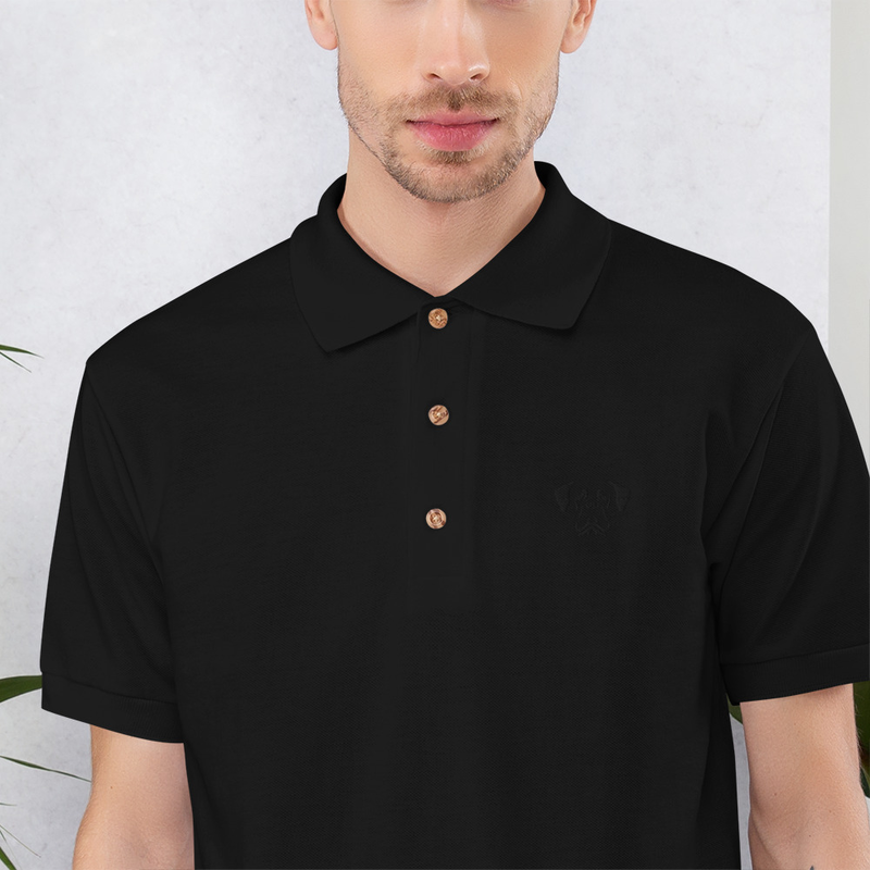 Embroidered Polo Shirt - Raddna B